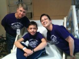 Blake Transplant Day